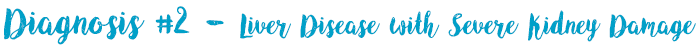 Liver Disease with Severe Kidney Damage
