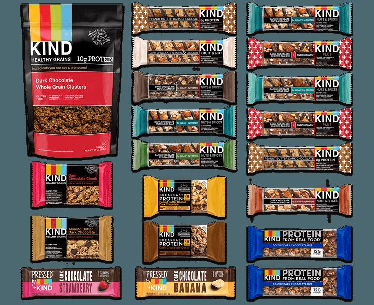 Kind Snacks Variety Chocolate Lovers Snack Pack