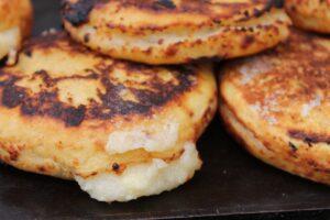 Gluten Free Stuffed Arepas