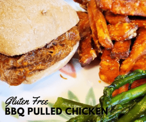 Gluten Free BBQ Pulled Chicken