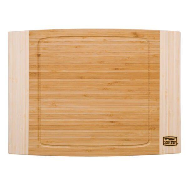 "Chicago Cutlery® Woodworks 12"" x 16"" Bamboo Cutting Board"