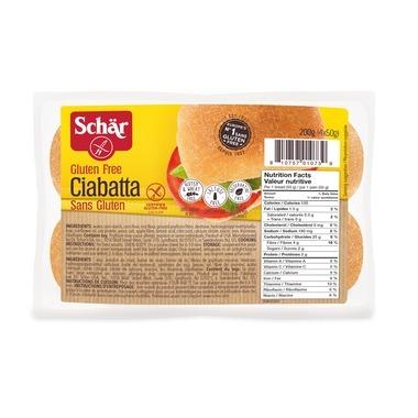 Schar Gluten Free Ciabatta