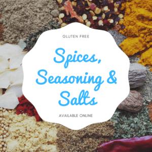 Spices, Seasonings & Salts