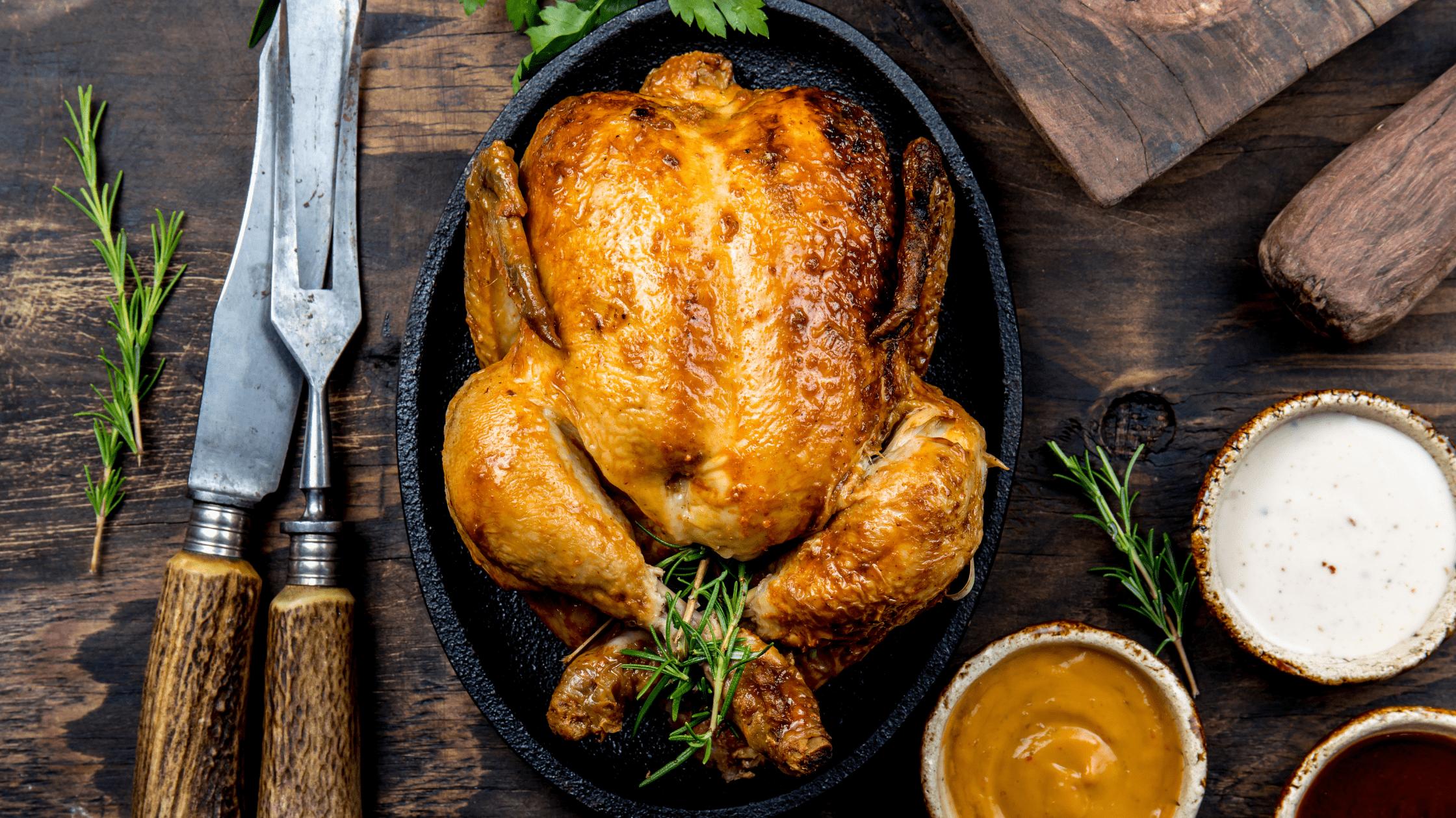 Classic Oven Roast Chicken